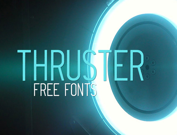Thruster Free Font