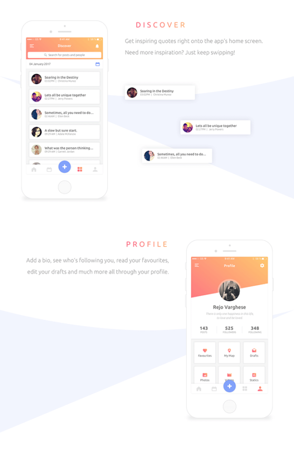 Everyday app concept - Preview 02