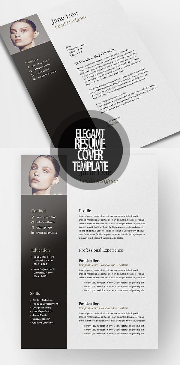Elegant CV/Resume Template