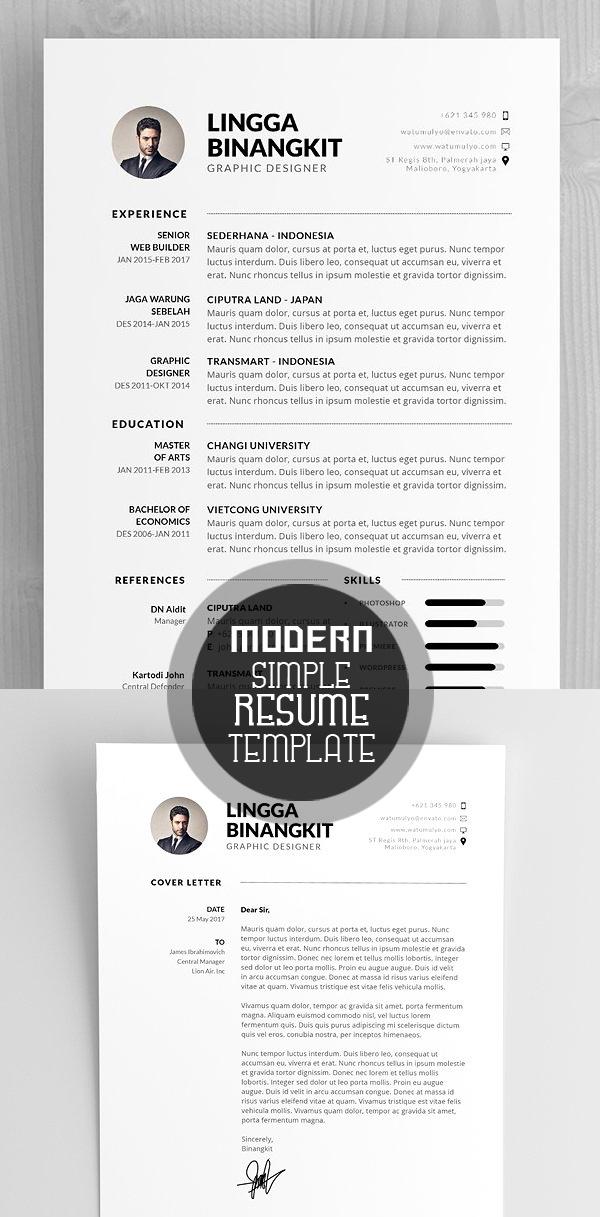 Modern CV/Resume Template