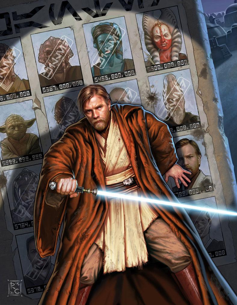 Star Wars cover art illustration