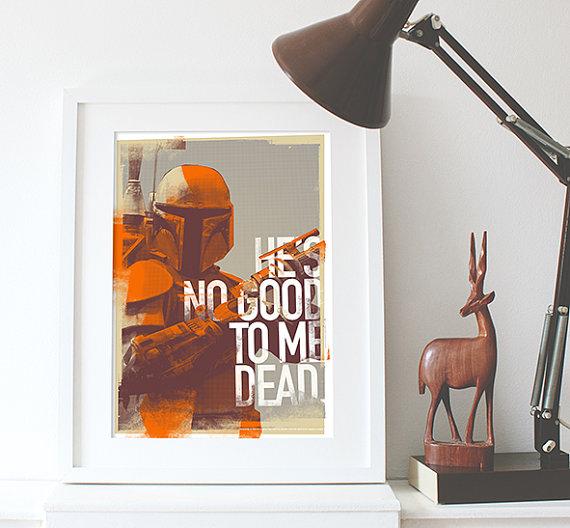 Star Wars Grunge Poster