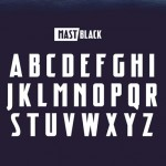Fresh Free Font Of The Day : Mast