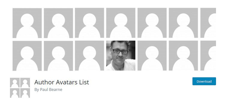 Author Avatars List