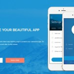 Grab This Month's (May) FREE App Landing Page Template (HTML/CSS3)