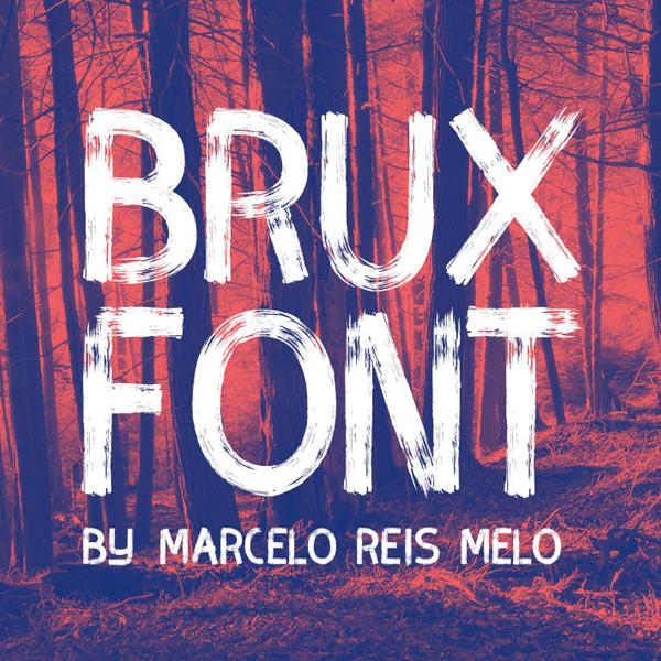 BRUX Free Brush Font