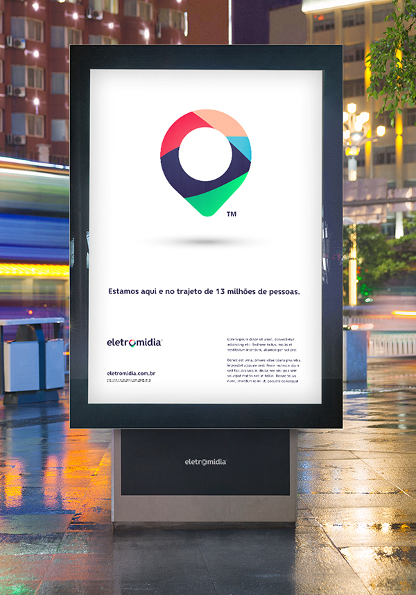 Branding: Eletromidia - Billboard Design