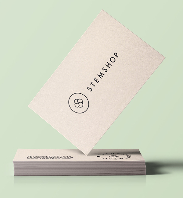 Branding: Stemshop - Business Card