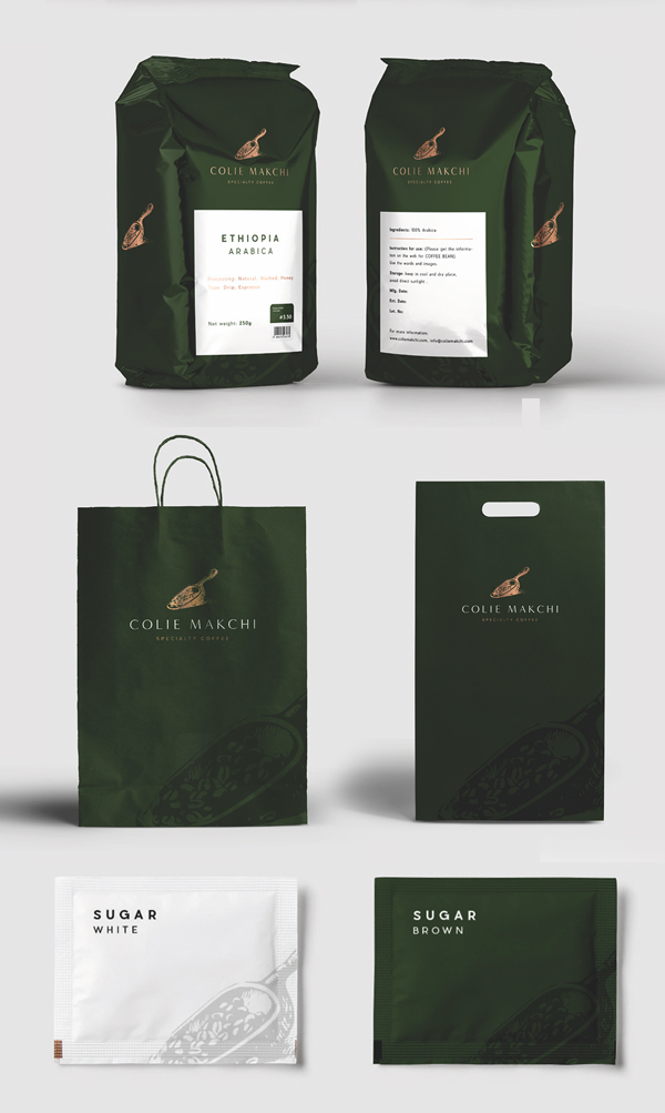 Branding: Specialty Coffee - Packaging Design