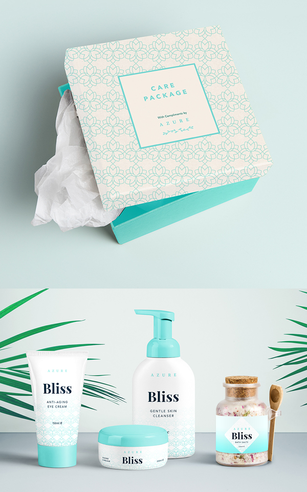 Branding: Azure - Packaging Design
