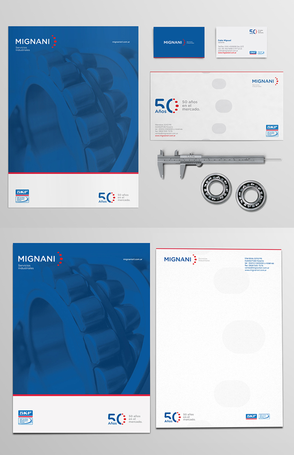 Branding: MIGNANI S.R.L. - Stationary Items