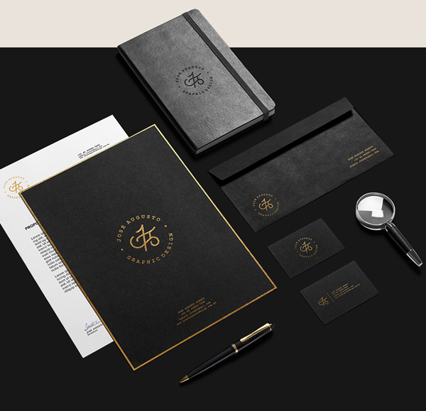 Branding: Personal - Stationary Items