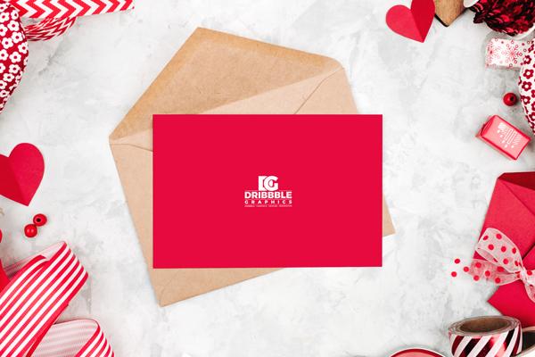 Free Invitation & Greeting Card MockUp