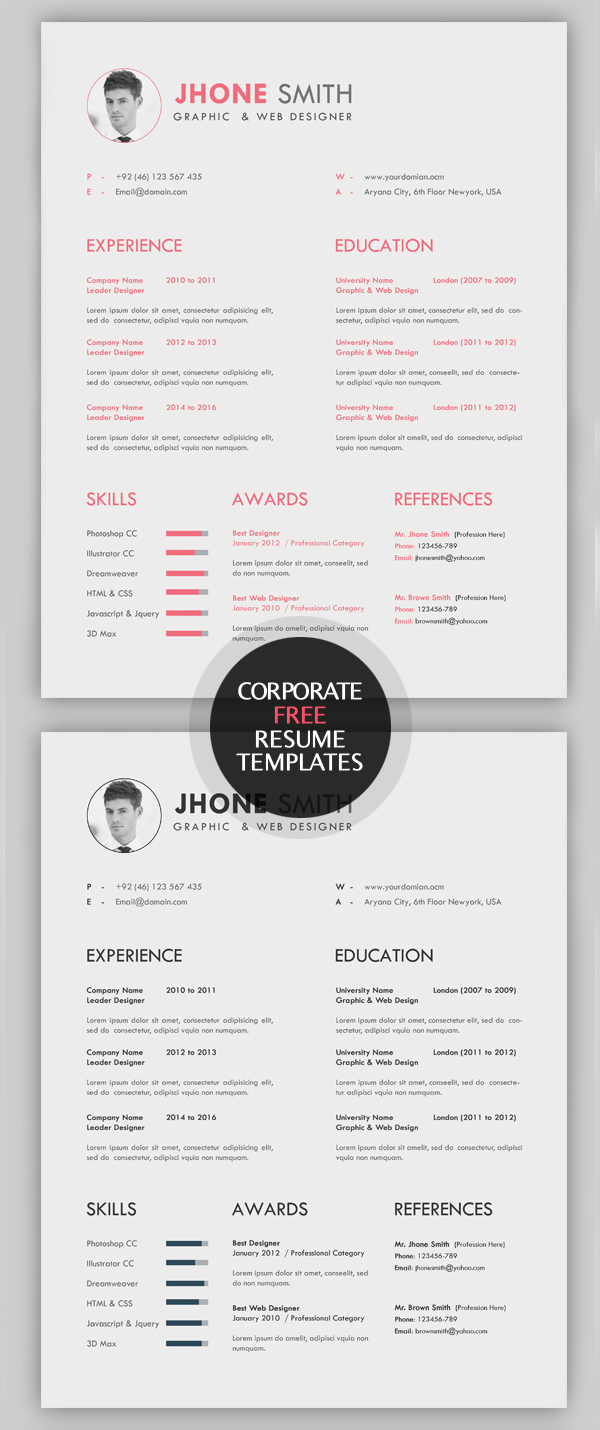23 free creative resume templates with cover letter idevie