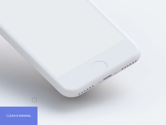 Preview image of 9 Free PSD Hi-Res iPhone mockups - 02