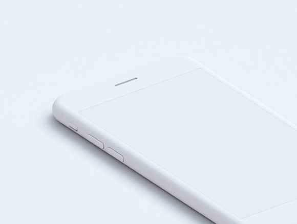 Preview image of 9 Free PSD Hi-Res iPhone mockups - 04