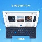 LiquidPro: A free UI kit for Photoshop