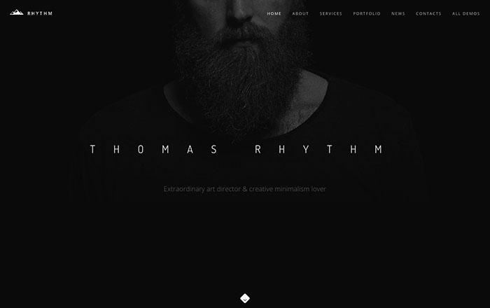 rhythm bootstrap themes 2017