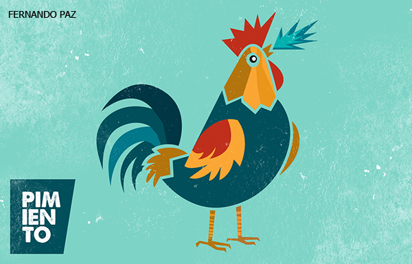 50 Creative Rooster Logo Designs for Inspiration - 44