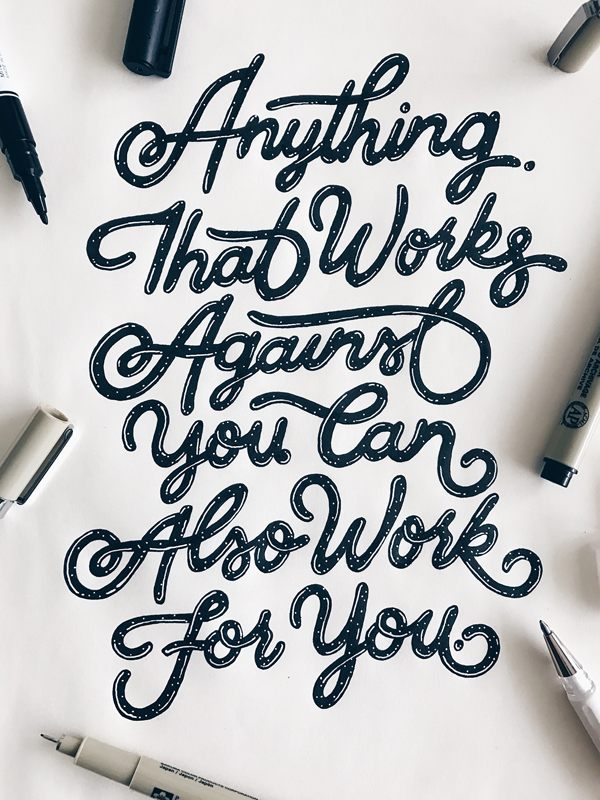 Remarkable Lettering and Typography Design for Inspiration - 10