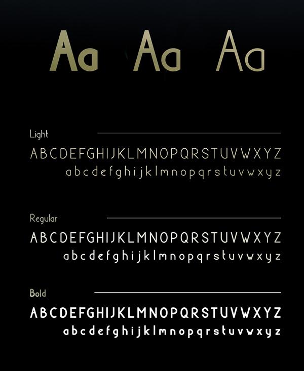 Barrow Font Letters