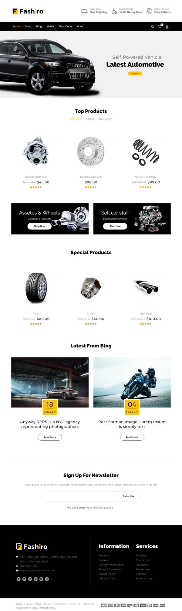 Fashiro – Multipurpose WooCommerce Theme