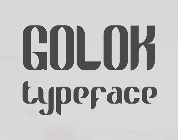 Golok Free Font