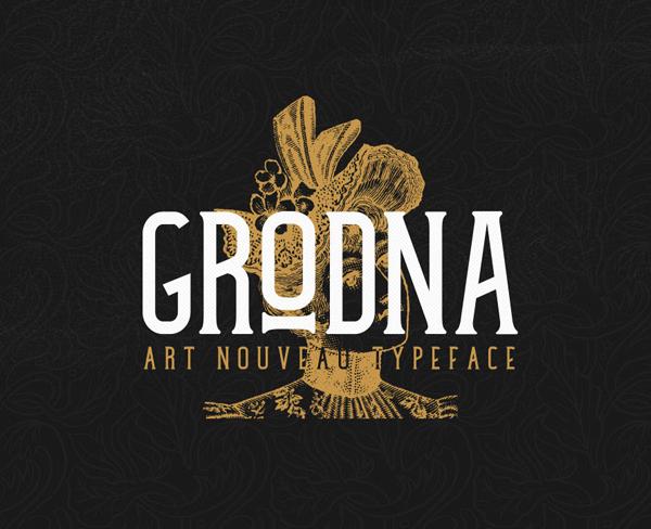 Grodna Free Font