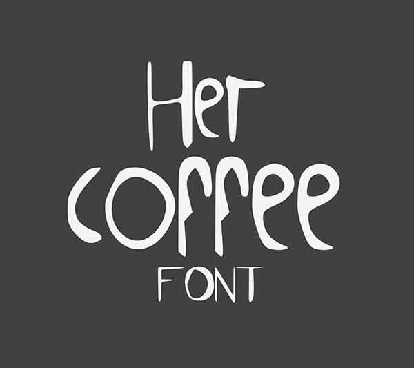 HerCoffee Free Font