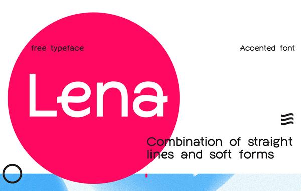 Lena Free Font