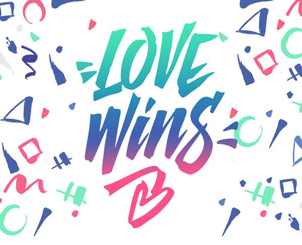 Love Wins Free Font