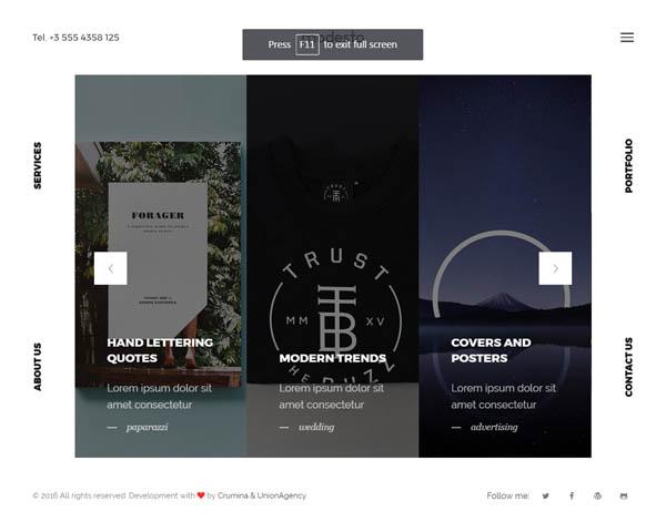 Modesto - Portfolio, Photography, Agency Powerful WordPress Theme