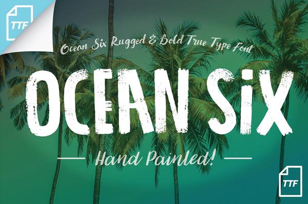 Ocean Six Free Font