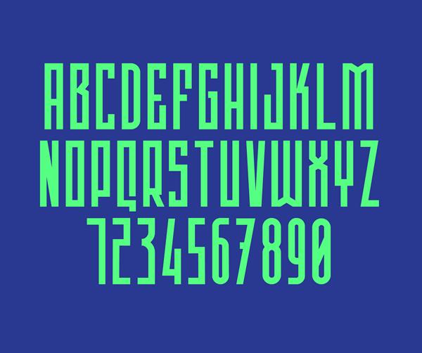 Rogue Font Letters