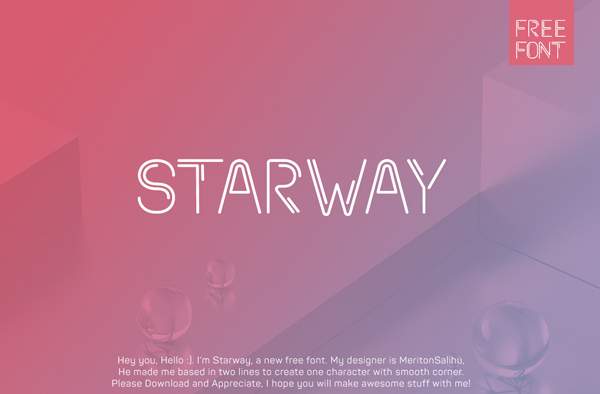 Starway Free Font