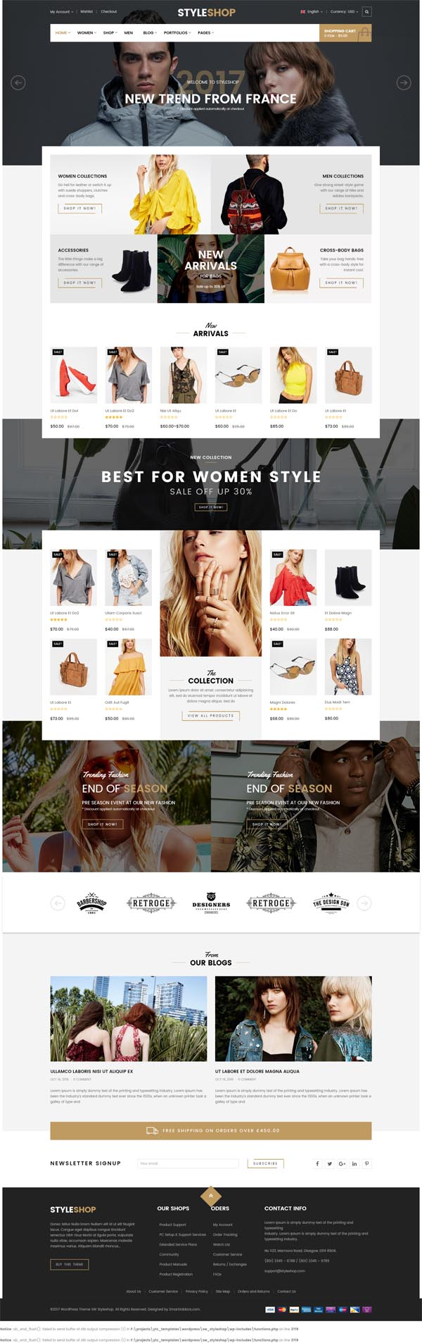StyleShop – Multi-Purpose Responsive WooCommerce Theme