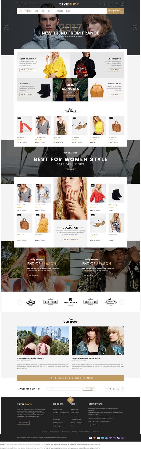 StyleShop – Multi-Purpose Responsive WooCommerce Theme