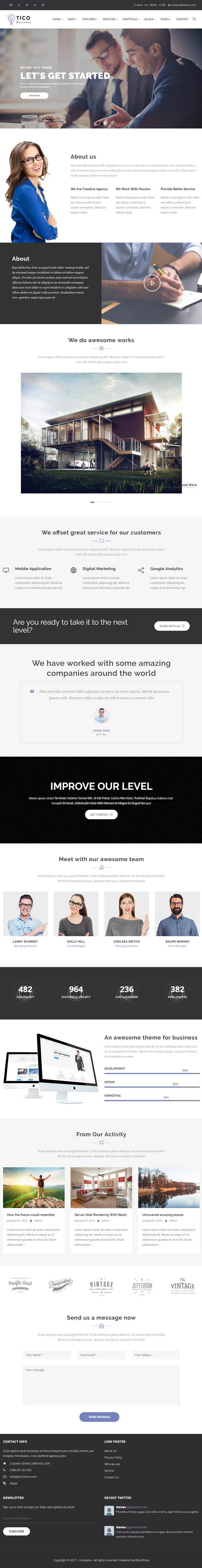 Tico – Responsive Business WordPress Theme