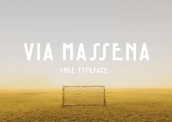 Via Massena Free Font
