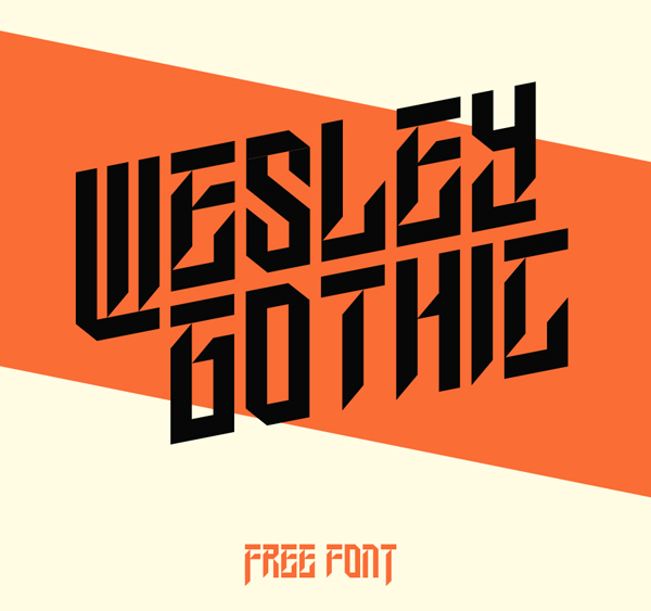 Wesley Gothic Free Font