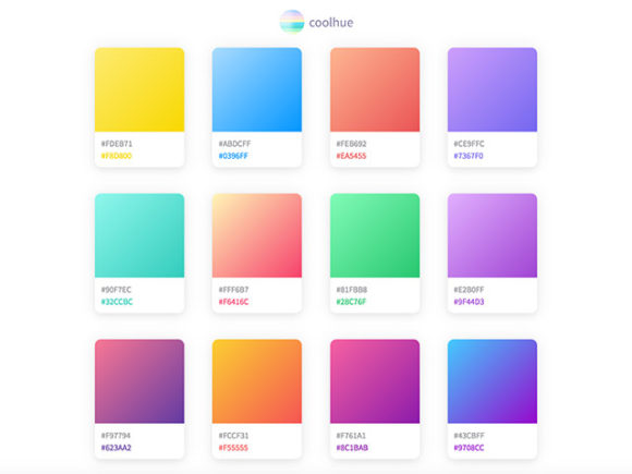 coolHue: A collection of CSS color gradients ready to be used
