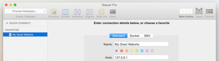 design apps for mac sequel pro