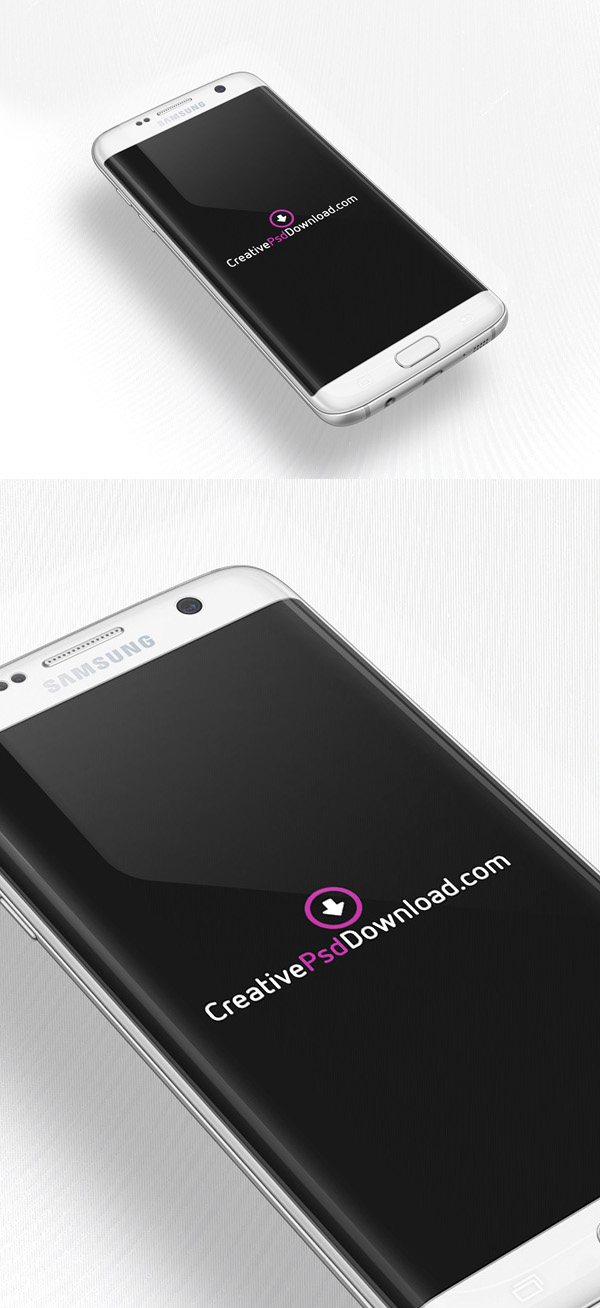 Free Samsung Galaxy S7 PSD Mockup