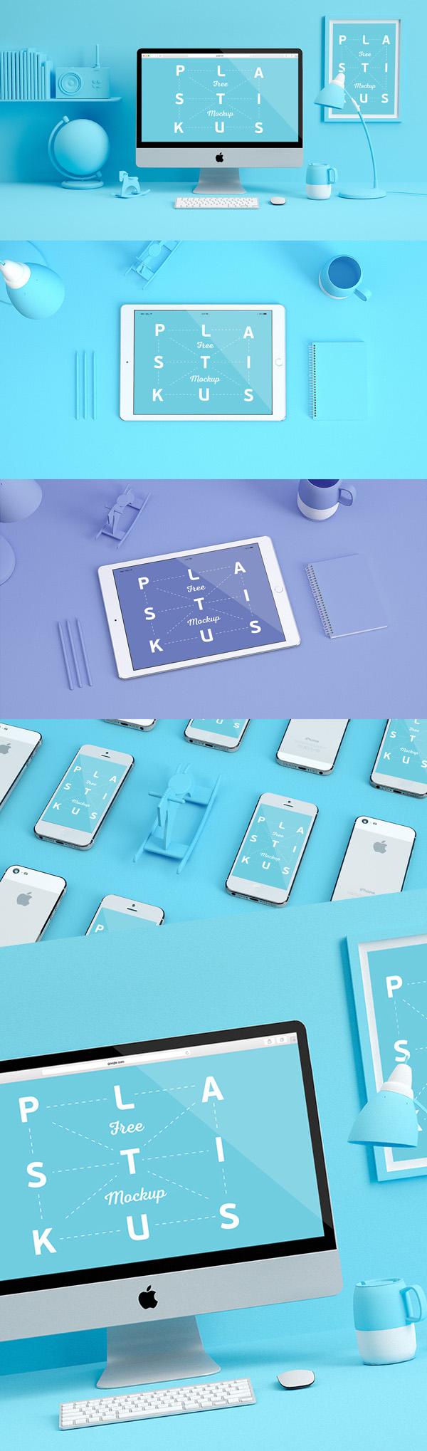 Free Device Mockups PSD