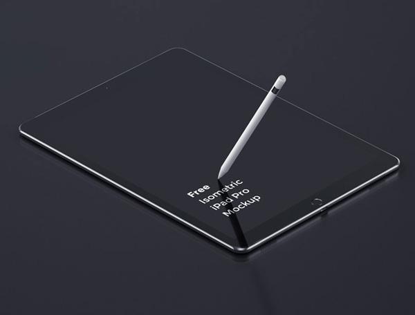Free Creative iPad Pro Mockup