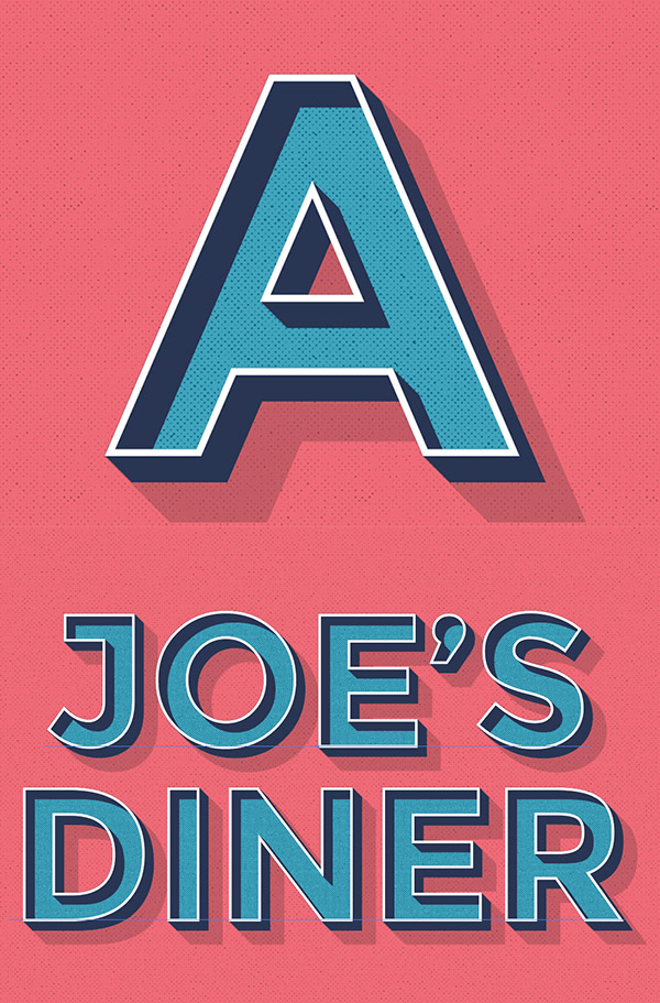 How To Create an Editable Retro Text Style in Illustrator
