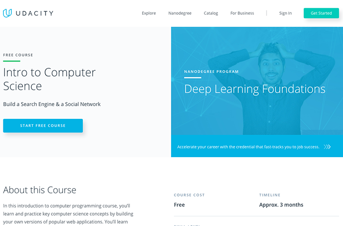 learn web development cs101