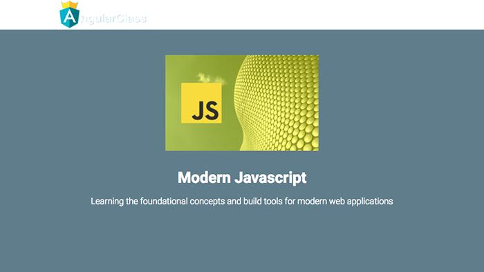 learn web development modern javascript angular