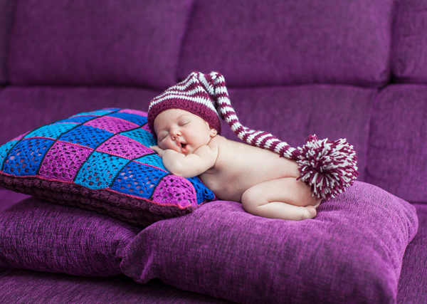 Cute Newborn Baby Photography - 1