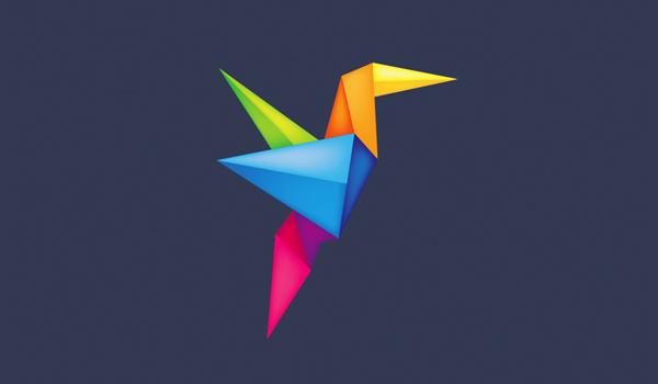 30 Amazing Origami Inspired Logo Designs – 48 - 1